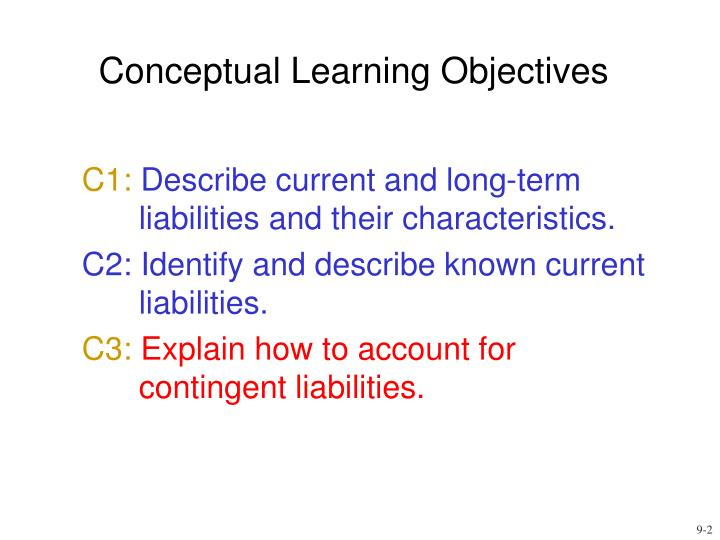 Conceptual learning objectives l.jpg