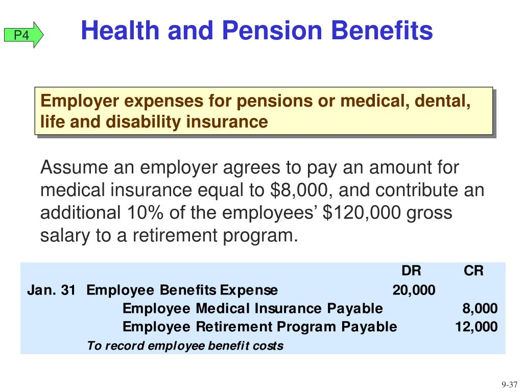 Health and Pension Benefits