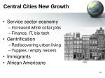 central cities new growth