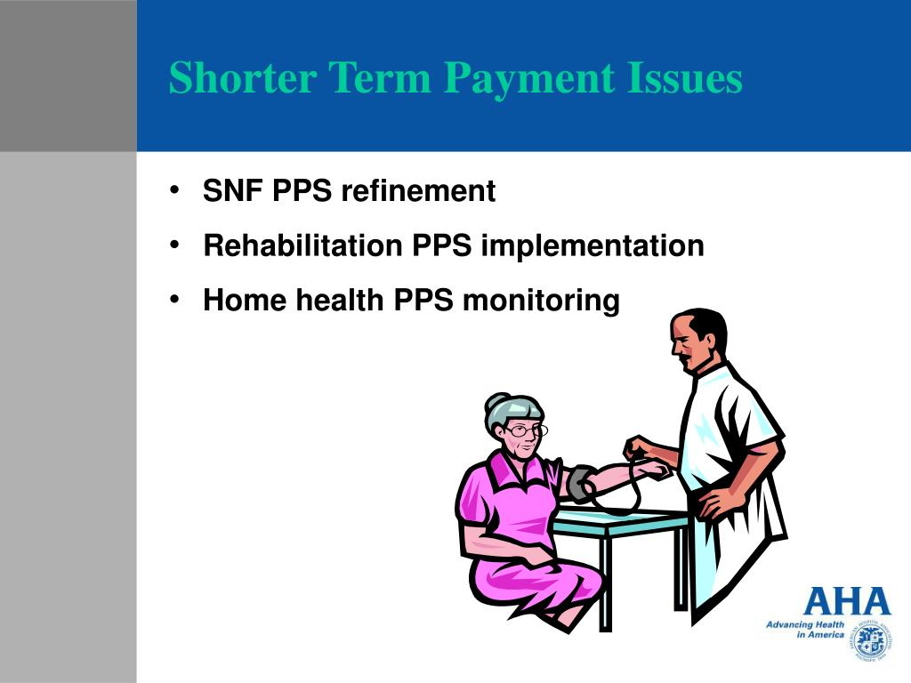 Shorter Term Payment Issues