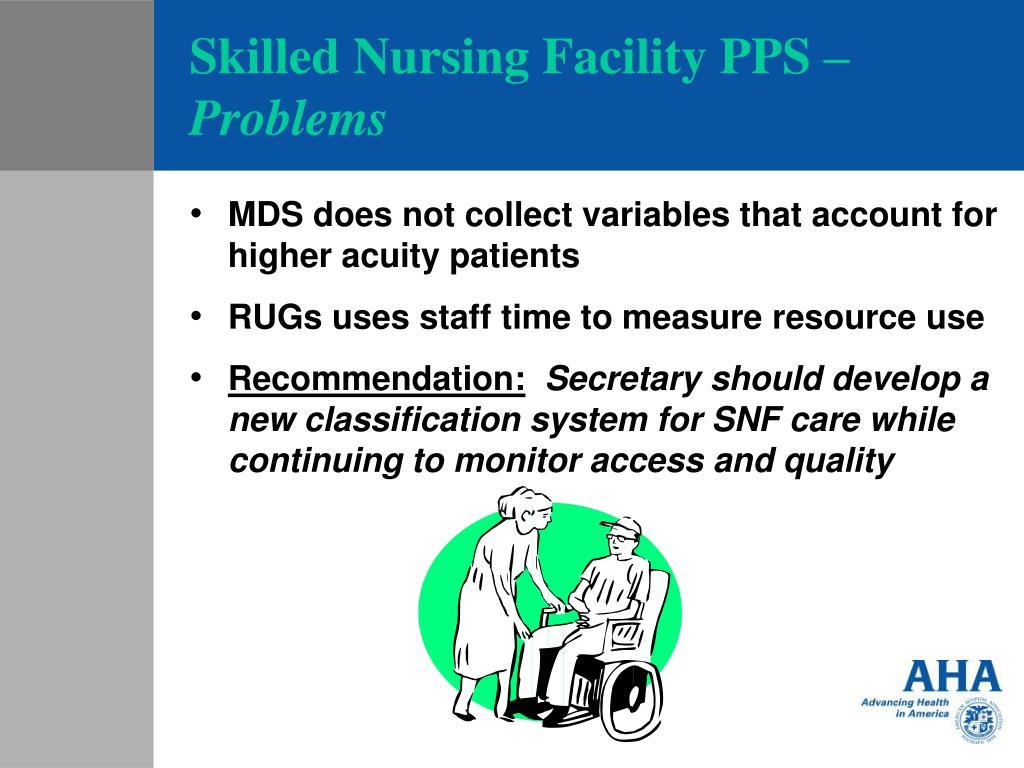 Skilled Nursing Facility PPS –