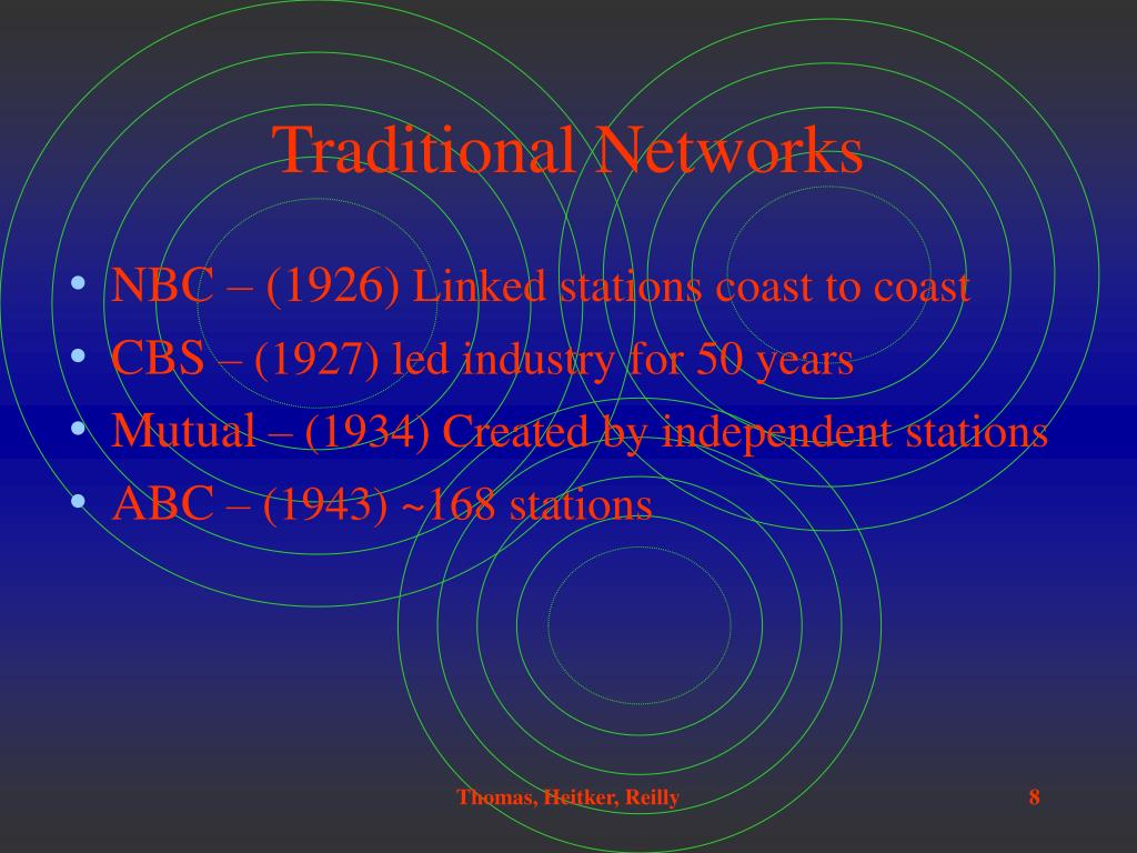 Traditional Networks