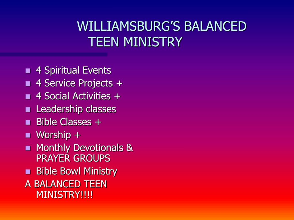 4 Spiritual Events