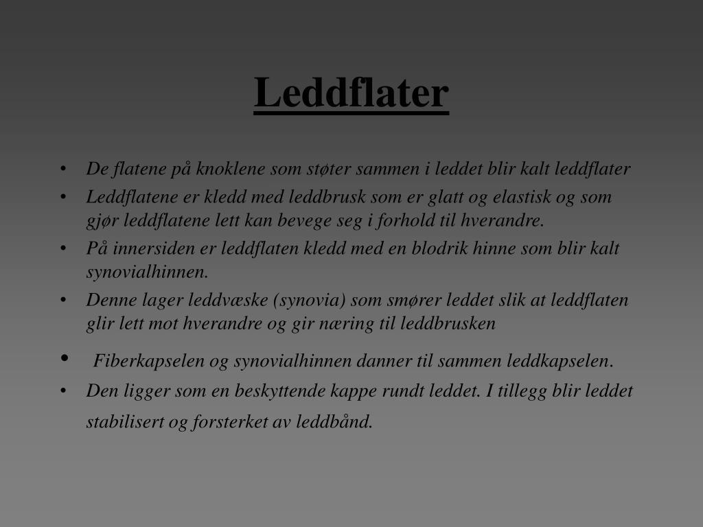 Leddflater