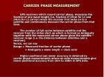 carrier phase measurement