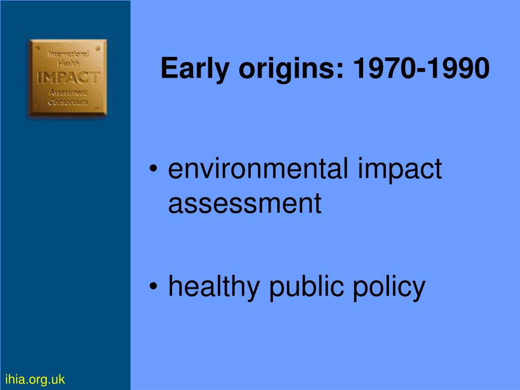 Early origins: 1970-1990