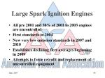 large spark ignition engines