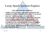 large spark ignition engines67