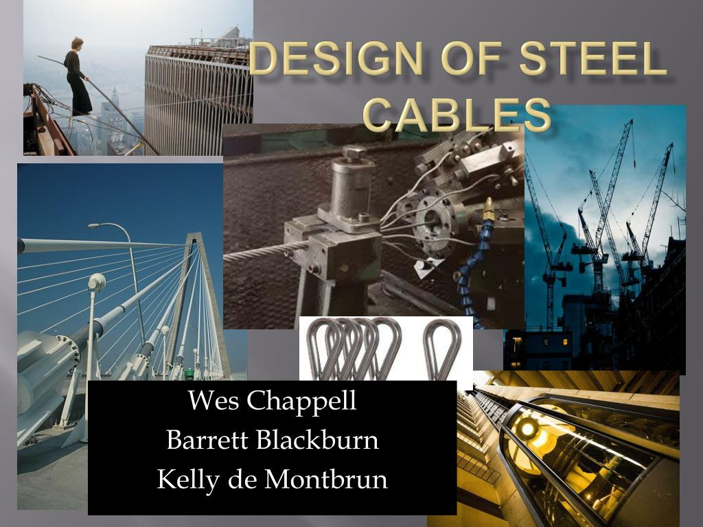 design of steel cables
