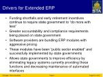 drivers for extended erp