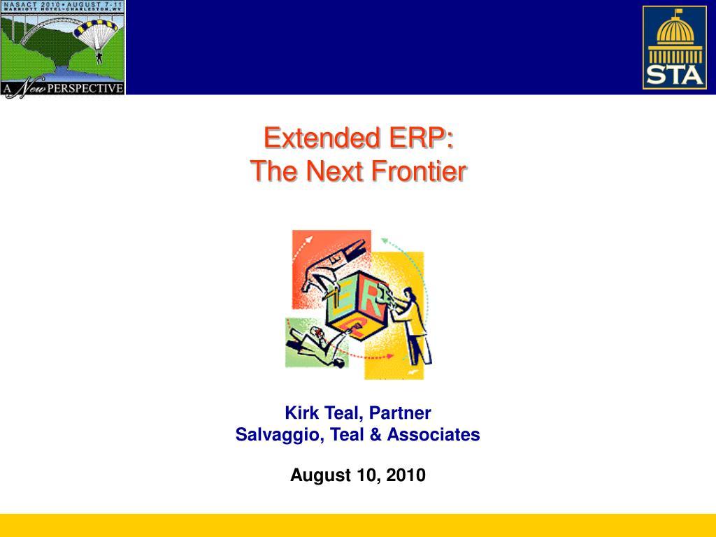 Extended ERP:
