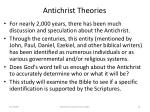 antichrist theories