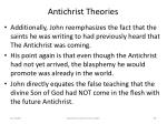 antichrist theories58