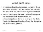 antichrist theories59