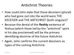 antichrist theories60