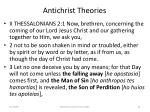 antichrist theories62