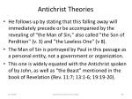 antichrist theories69