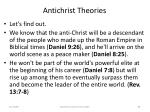 antichrist theories83