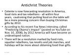 antichrist theories91