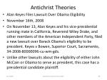 antichrist theories96