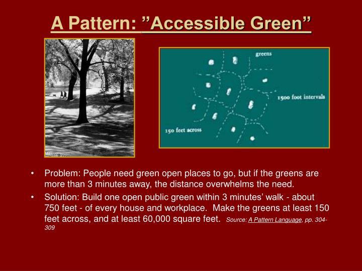 A Pattern: