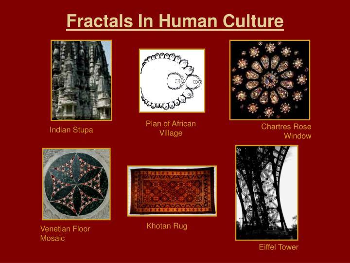 Fractals In Human Culture