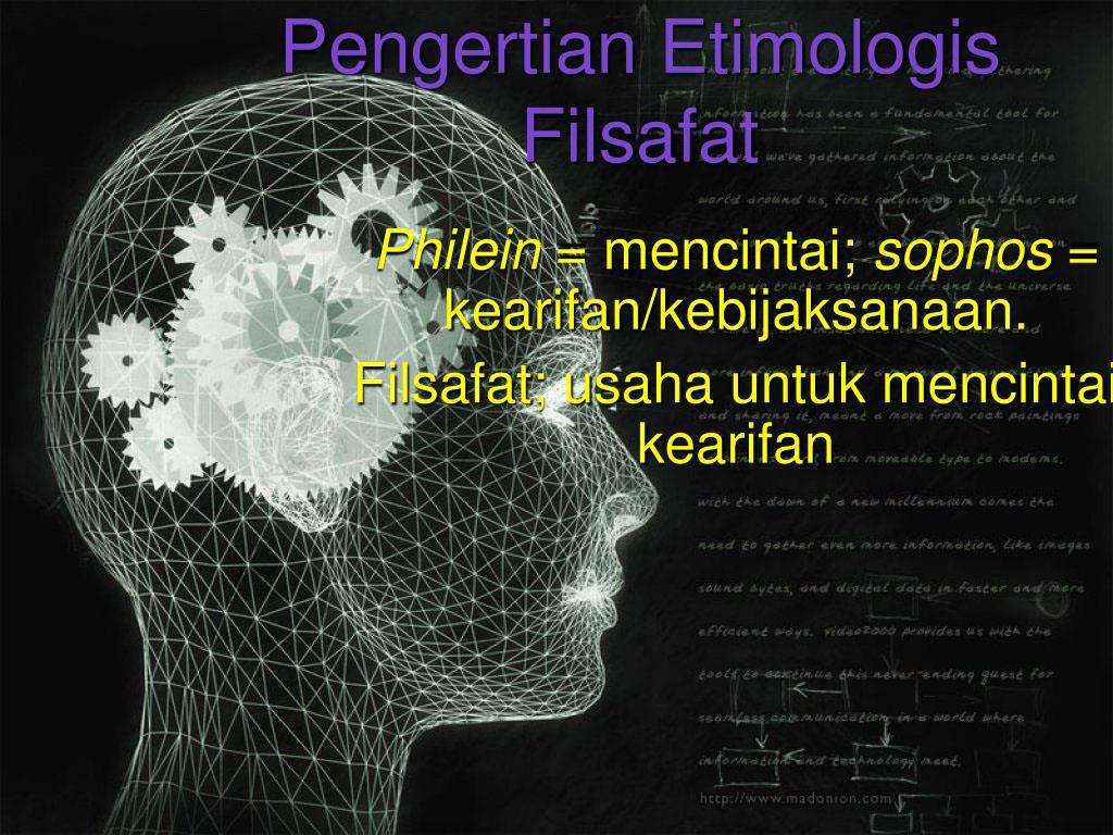 Pengertian Etimologis Filsafat