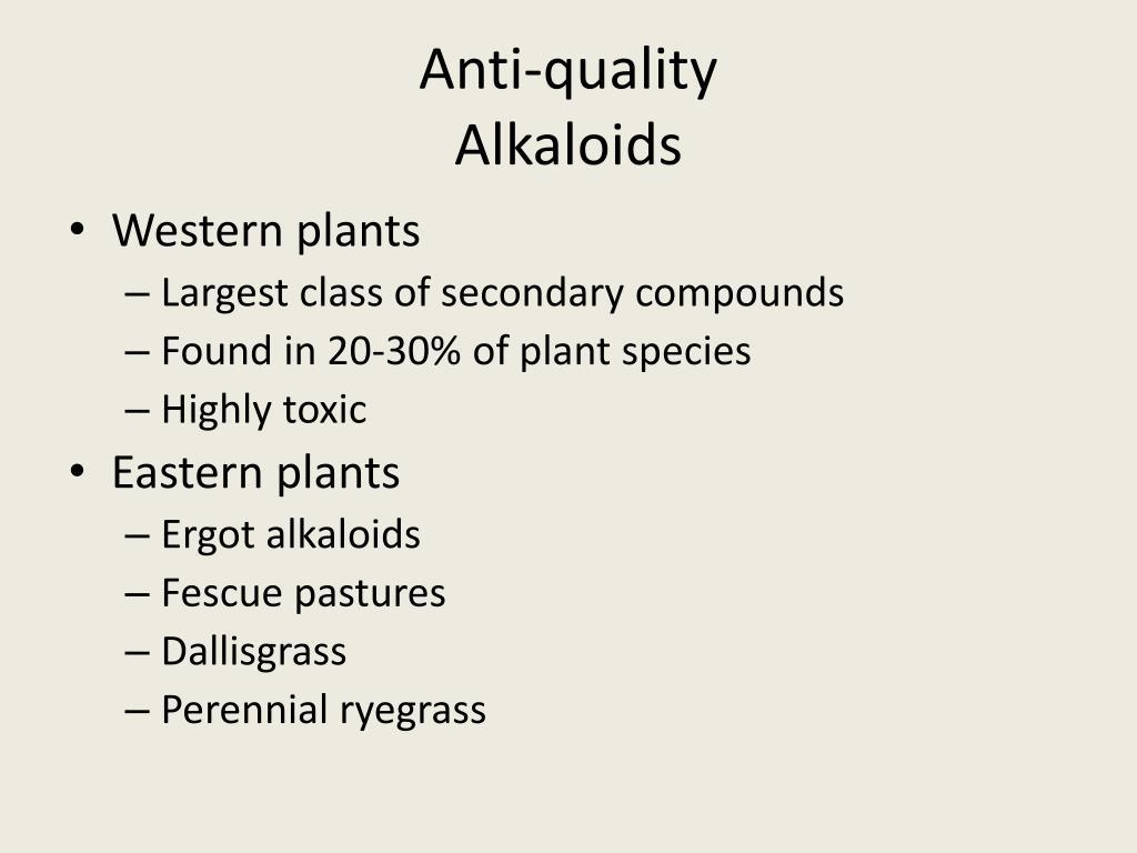 Anti-quality