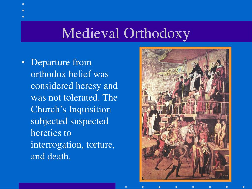 Medieval Orthodoxy