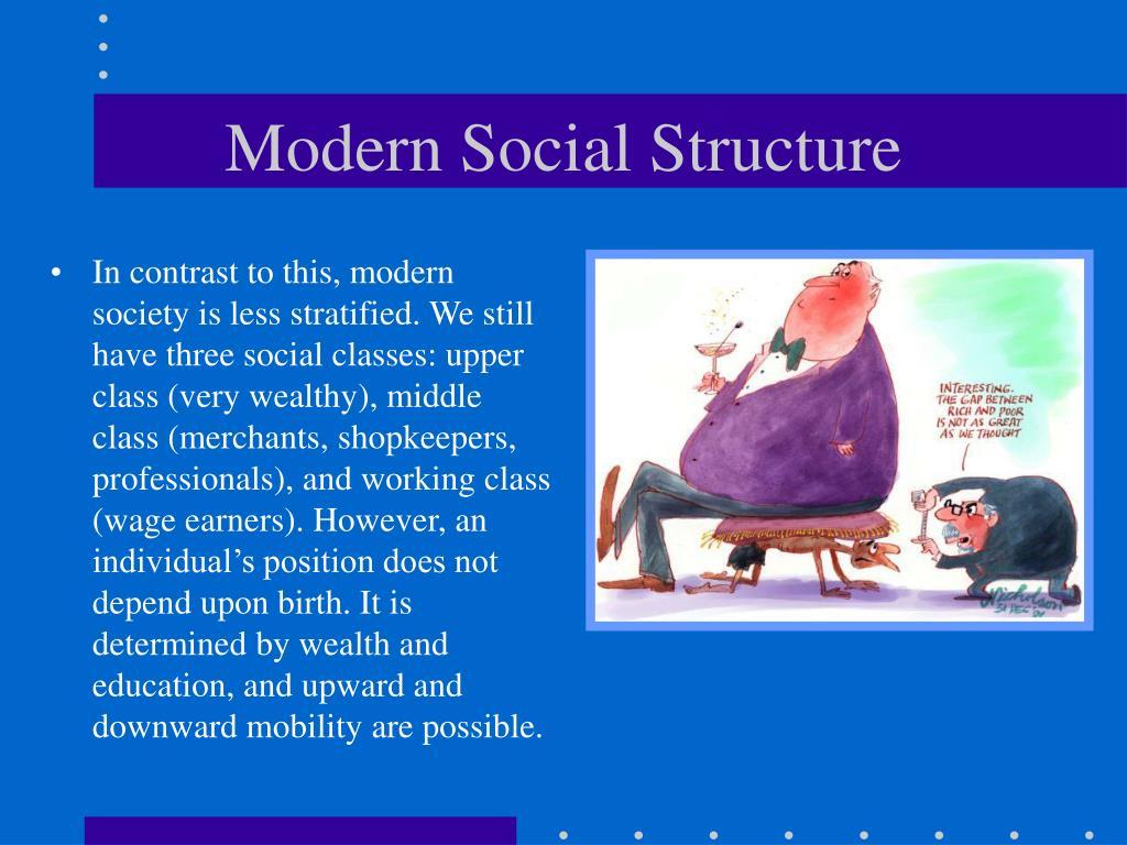 Modern Social Structure