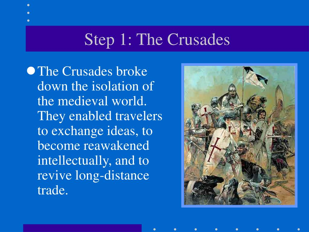 Step 1: The Crusades
