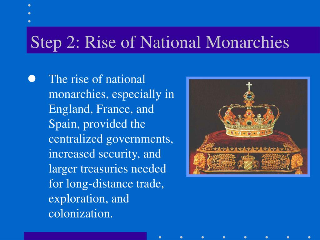 Step 2: Rise of National Monarchies
