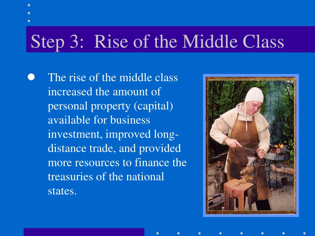 Step 3:  Rise of the Middle Class