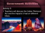 government activities28