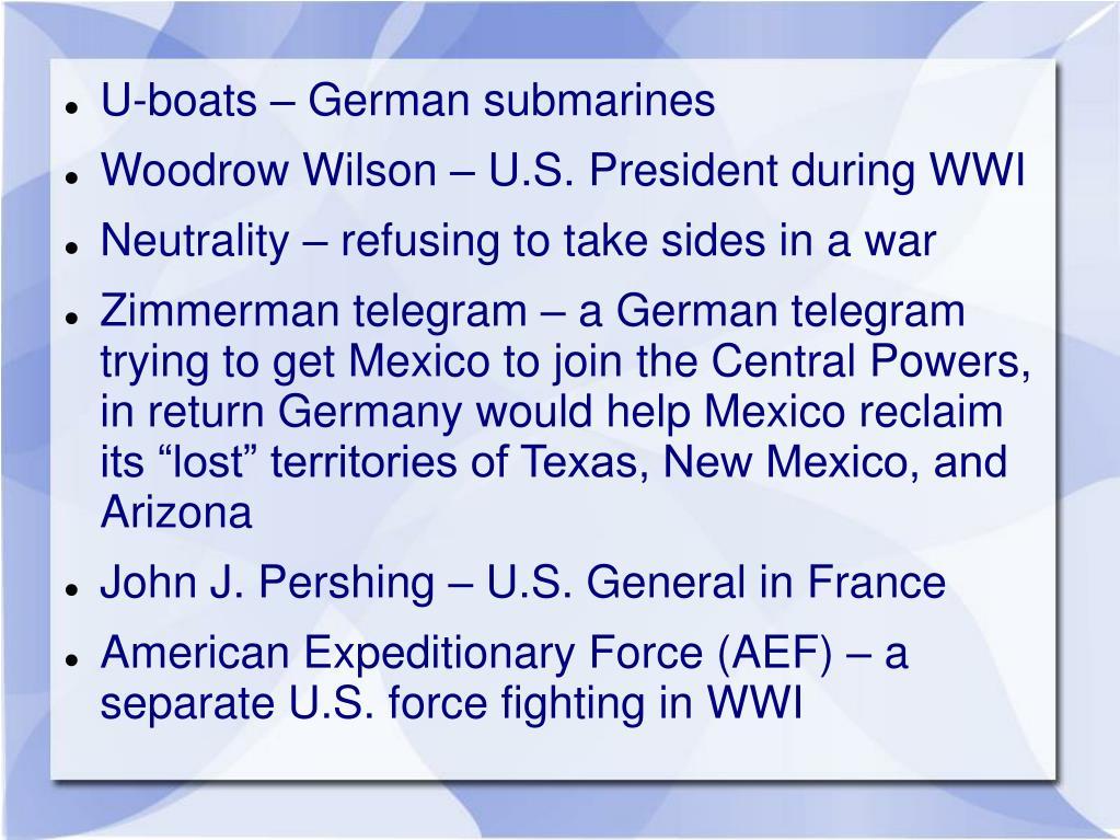 U-boats – German submarines