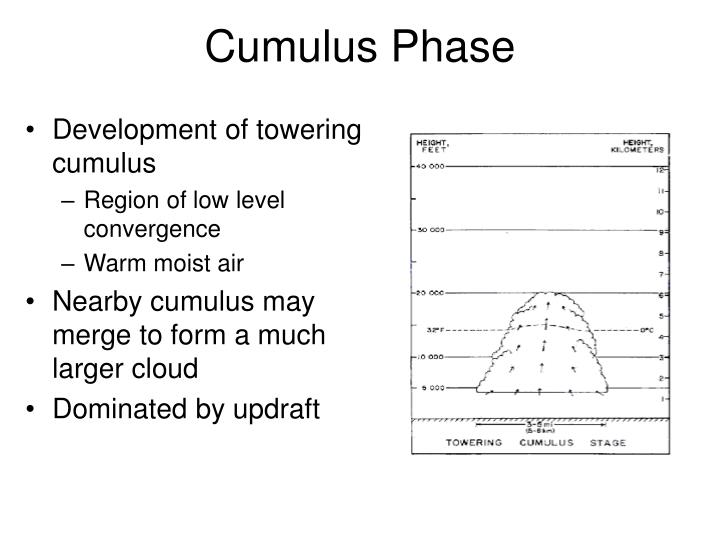 Cumulus Phase
