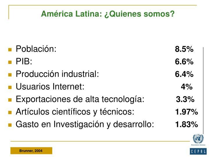 América Latina: ¿Quienes somos?