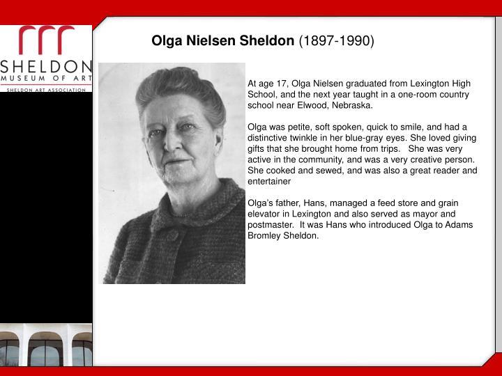 Olga Nielsen Sheldon