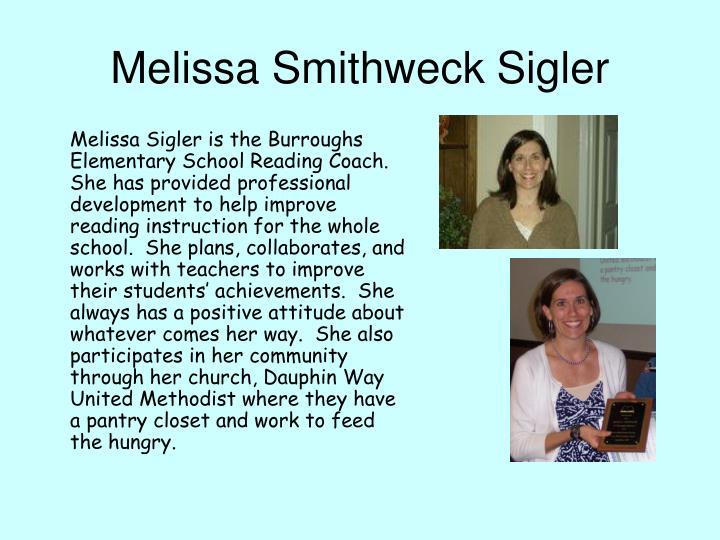 Melissa Smithweck Sigler