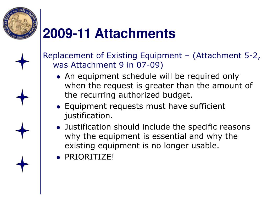 2009-11 Attachments