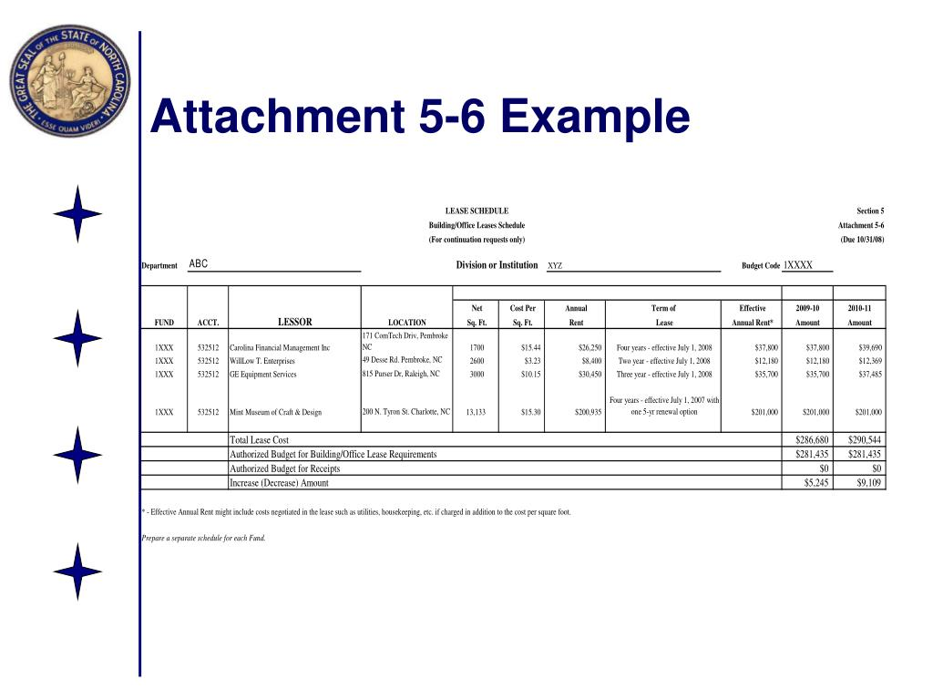Attachment 5-6 Example