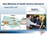 new methods of health science research