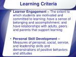 learning criteria9