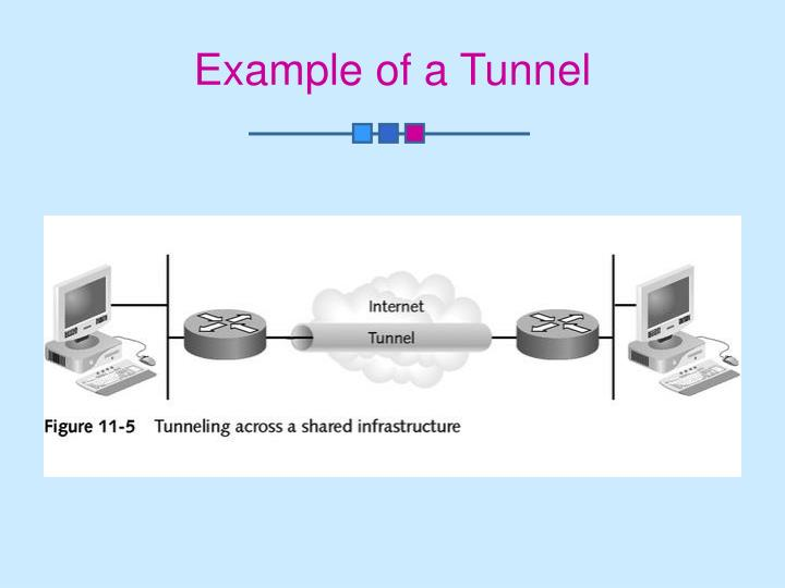 Example of a Tunnel