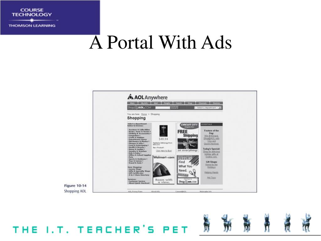 A Portal With Ads