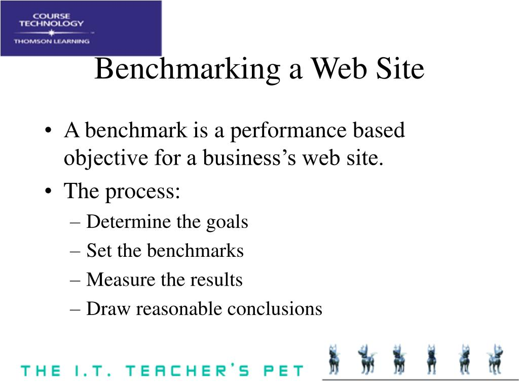 Benchmarking a Web Site