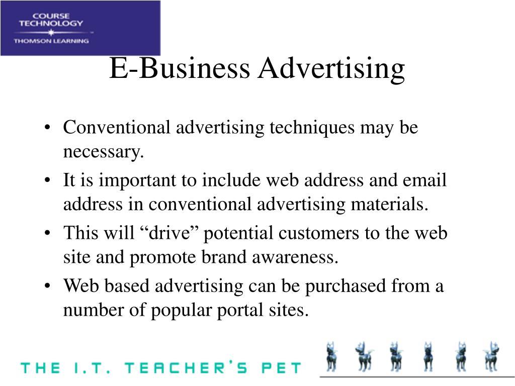 E-Business Advertising