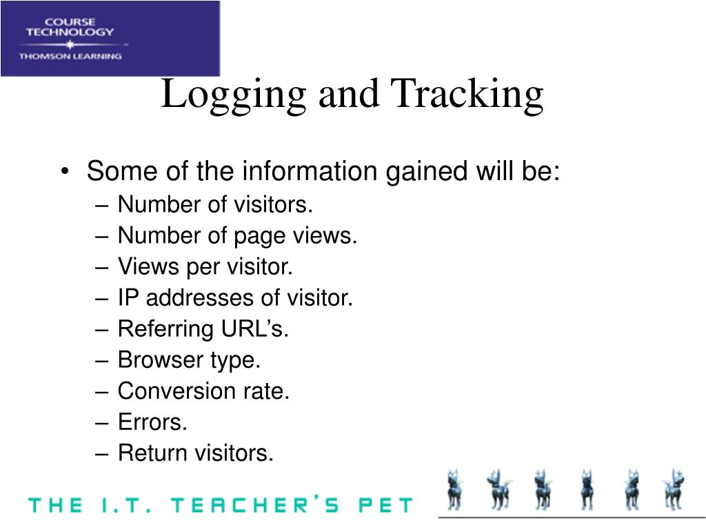 Logging and Tracking