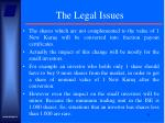 the legal issues11