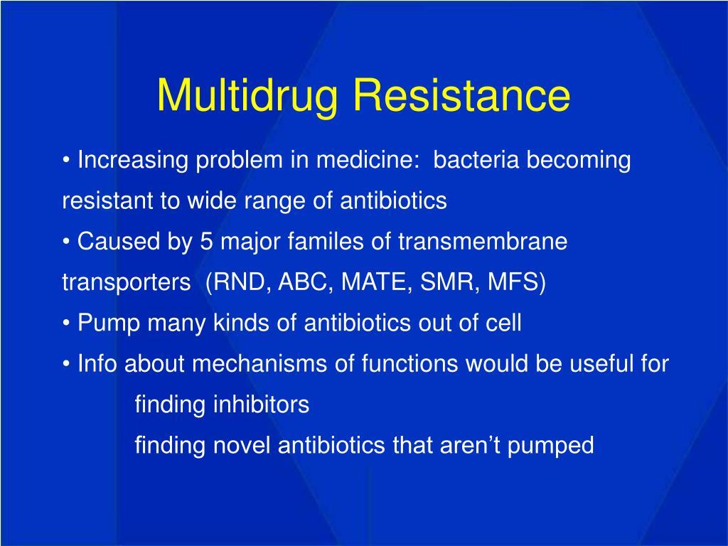 Multidrug Resistance
